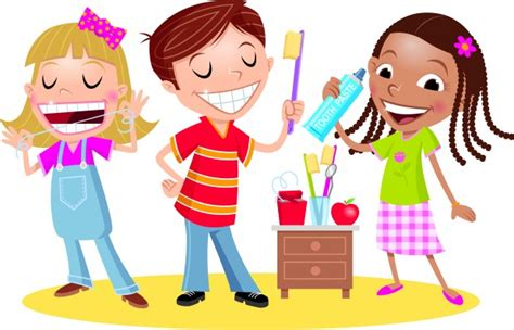 toothy habits ways  encourage kids   healthy