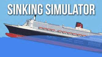 sinking simulator my own cruise ship cruise liner sinking simulator gameplay