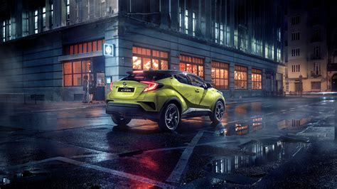 Toyota Chr Hybrid 4k Wallpapers by Toyota C Hr Neon Lime Powered By Jbl 2019 4k 2 Wallpaper