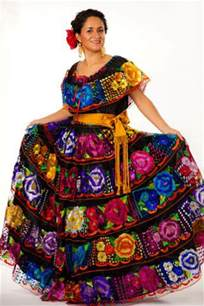 Traditional Mexican Dress Clothing