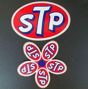 1960 U0026 39 S Stp 1 Flower  U0026 1 Oval Decal Stickers Nascar Usac