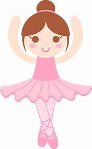Cute Ballerina Clip Art - Free Clip Art