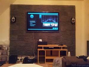 Fernseher An Der Wand : tv an der wand tv wand hifi bildergalerie ~ Frokenaadalensverden.com Haus und Dekorationen