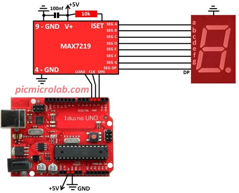 Arduino Segment Led Display Max
