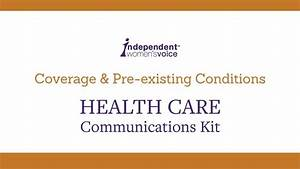 Coverage & Pre-existing Conditions • IWV - YouTube