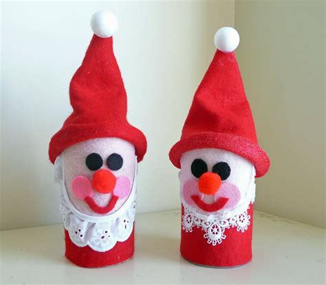 christmas craft preschool crafts for kids toilet roll santa christmas craft