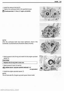 2009  U2013 2017 Suzuki Tu250x Motorcycle Service Manual
