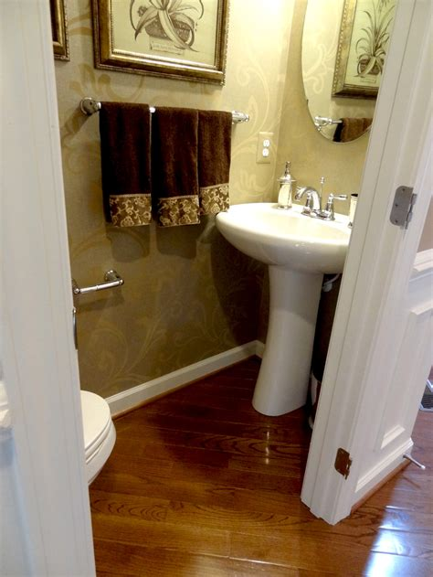 Small Narrow Half Bathroom Ideas by Lot 106 Model