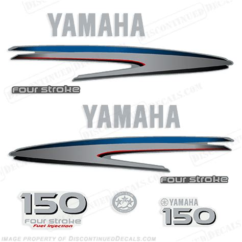 Yamaha Boat Decals by Yamaha 150hp 4 Stroke Decals 2002 2006