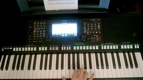 yamaha psr s775 yamaha psr s775 all voices from plus category