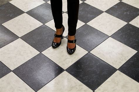 black and white marble floor flooring rental