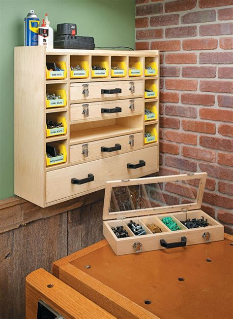 hardware cabinet woodworking project woodsmith plans