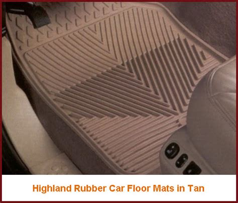 rubber car floor mats highland car mats are made from lasting