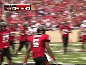 Texas Tech Defeats Nebraska in OT 10-11-2008 - YouTube