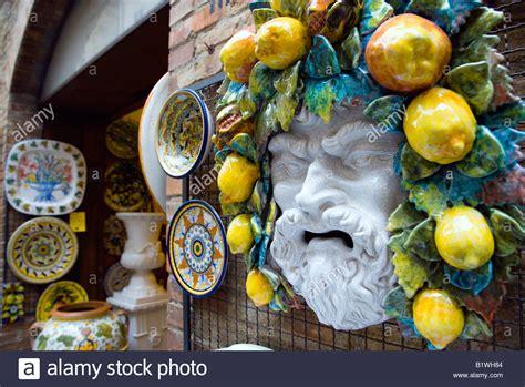 pottery shop in san gimignano tuscany italy pixdaus italy tuscany san gimignano ceramics shop display of colourful plates stock photo 18387380 alamy
