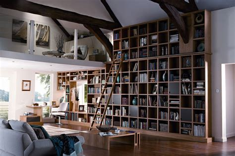 Bookcase Room by Bookcase Feature Wall