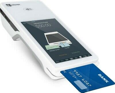 It accepts virtually all payment types. Clover FLEX POS Credit Card Machine - Accepts EMV, Apple ...