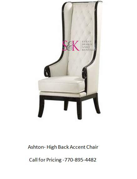 ashton high back accent chair