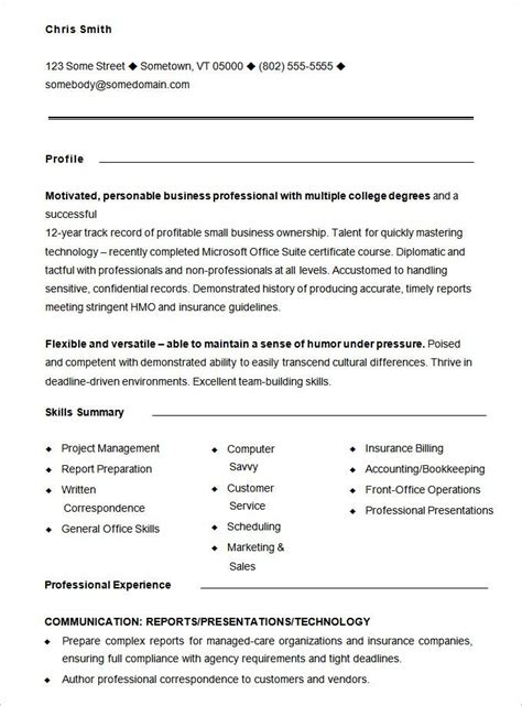 functional resume templates  printable word