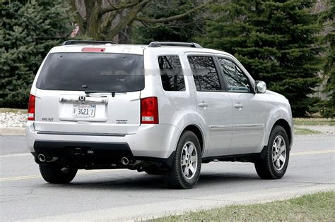 New 2009 Honda Pilot Spied Ahead Debut  It's Your Auto