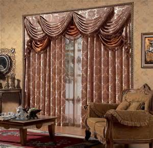 Image of: Door Window Curtain Decorating Idea Elegant Unique And Special Curtain Designs For House Interior