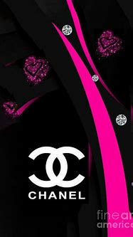 Chanel Logo Glitter Digital Art by Shirley Ricard