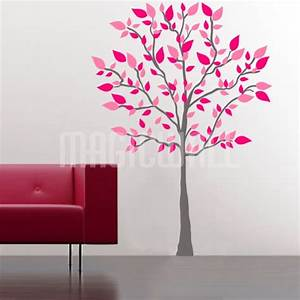 bathroom wall decorations tree wall stickers With great tree decals for walls