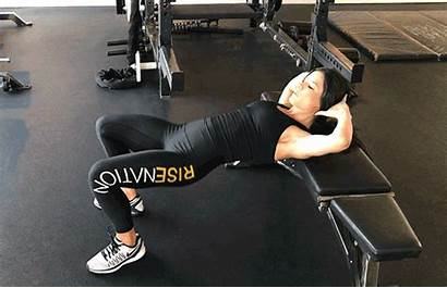 Thrust Hip Posterior Chain Exercises Exercise Workout