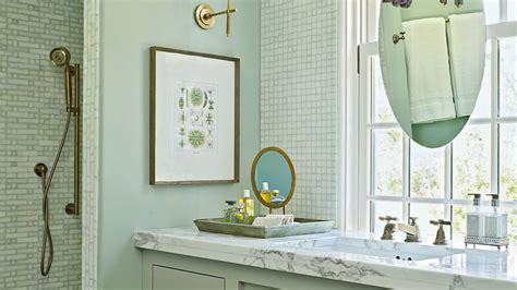 beach house bathrooms coastal living