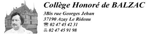college honore de balzac azay le rideau coll 232 ge honor 233 de balzac d azay le rideau site acad 233 mique s 233 curit 233 incendie plan d 233 vacuation