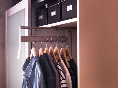Closet Hangers by Shallow Closet Ideas When It S Not Enough For