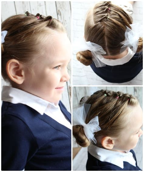 10 Easy Little Girls Hairstyles (5 Minutes) Somewhat Simple
