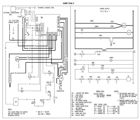 Wiring Diagram For Thermostat Furnace Sample