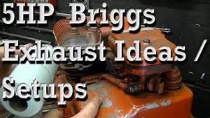 Briggs Stratton ölwechsel : 5hp briggs stratton exhaust ideas how to install hot ~ Watch28wear.com Haus und Dekorationen
