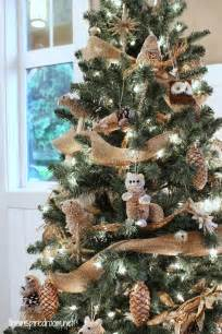 Woodland Animal Christmas Tree
