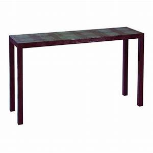 ANNA LEATHER CONSOLE ASTELE