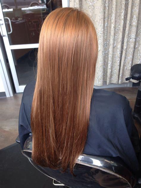 Golden Copper Hair Quaint Beauty By Lauren Trent