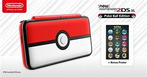 Poke Ball New 2DS XL Up For Pre Order On The Nintendo UK