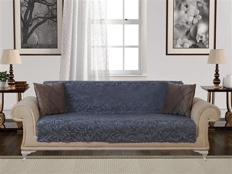 Non Slip Cover For Leather Sofa by Anti Slip Armless Pet Sofa Cover Covers