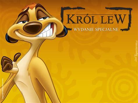 timon usmiech krol lew