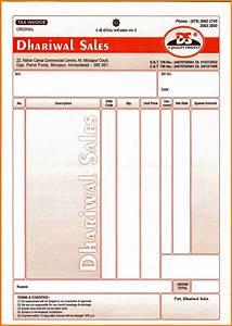 6+ cash bill format fancyresume
