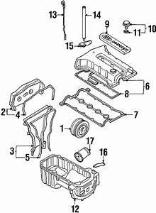 Engine Parts For 2000 Kia Sephia
