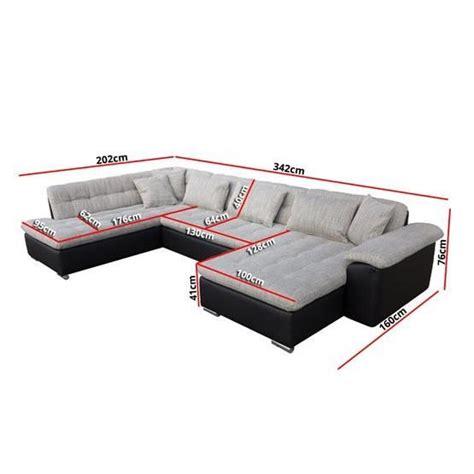 vente de canapé pas cher canapé angle u alta 3 gris angle gauche achat vente