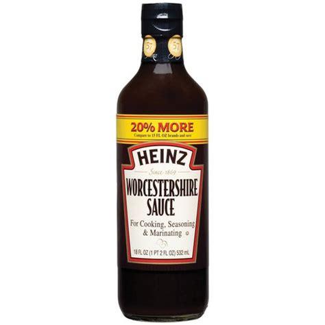 worchestire sauce heinz worcestershire sauce 18 fl oz walmart com