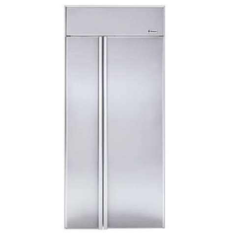 zisnr ge monogram  built  side  side refrigerator monogram appliances