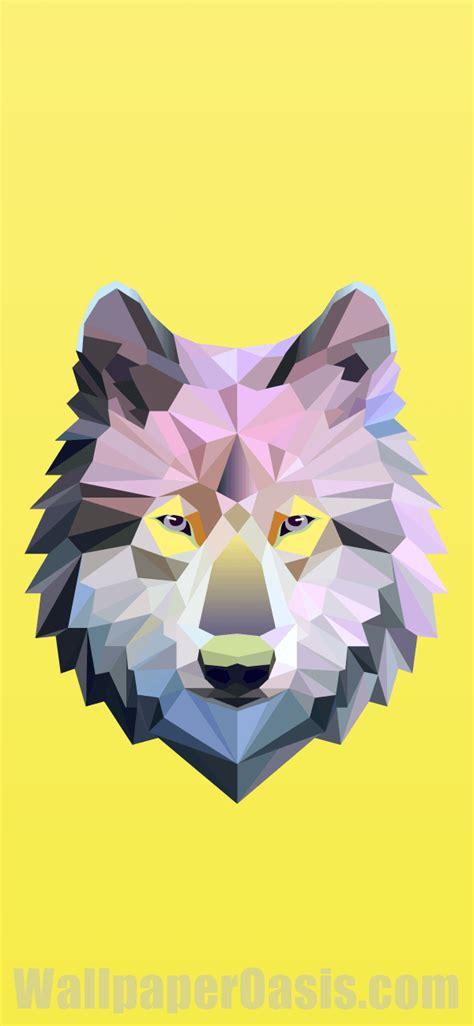 Geometric Wolf Phone Wallpaper by Geometric Wolf Iphone Wallpaper