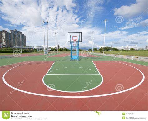 terrain de basket ext 233 rieur photos stock image 21494613