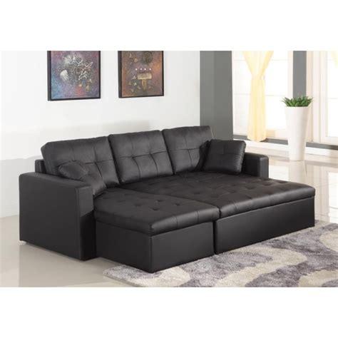 canapé simili cuir but canapé d 39 angle lit convertible girly noir en simili cuir