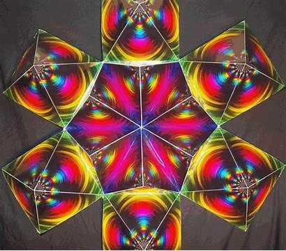 Rainbow Flower 3d Animated Deviantart Structure Sacred