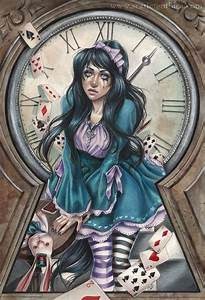 Alice in Darkness by Claudia-SG on DeviantArt